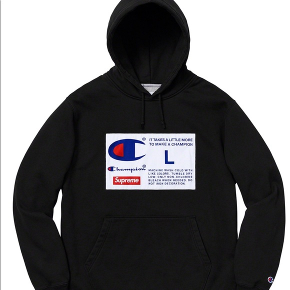 177a4792 Supreme Shirts | X Champion Hoodie Xl | Poshmark